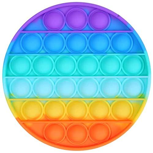 Pop Bubble Sensory Fidget Toy Fidget Toy,Jouet Anti Stress Sensorielle Jouet pour Enfant et Adulte Fidget Toy (Multicolore)