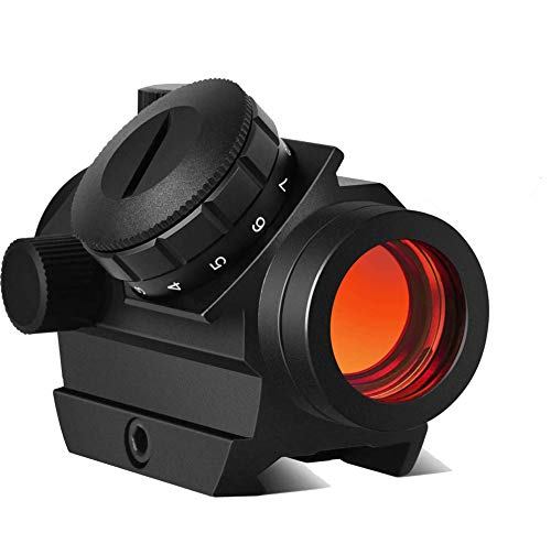 Red Dot Sight - Cycvis Riflescope Micro Rifle Gun Sights, 1x25mm 3-4 MOA,11...