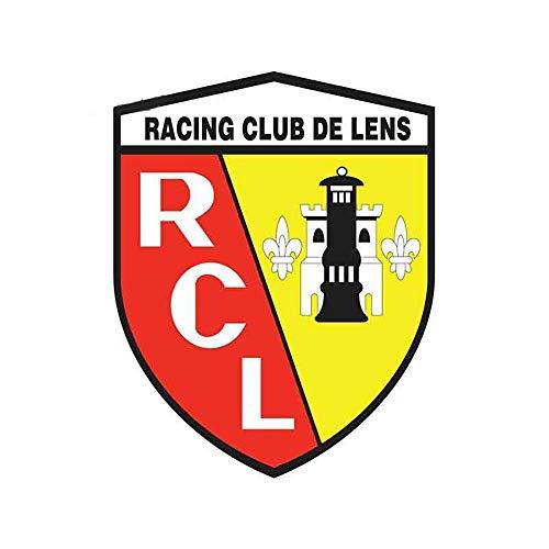 13 cm x 10,3 cm voor lens Rc Frankrijk creatieve persoonlijkheid sticker zonwering auto sticker en hardware-trekker