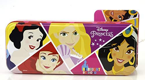 Markwins Disney Princess Triple Layer Beauty Tin - Set de Maquillaje para Nias - Neceser Maquillaje, Seleccin de Productos Seguros en un Lata de Maquillaje con 3 Pisos
