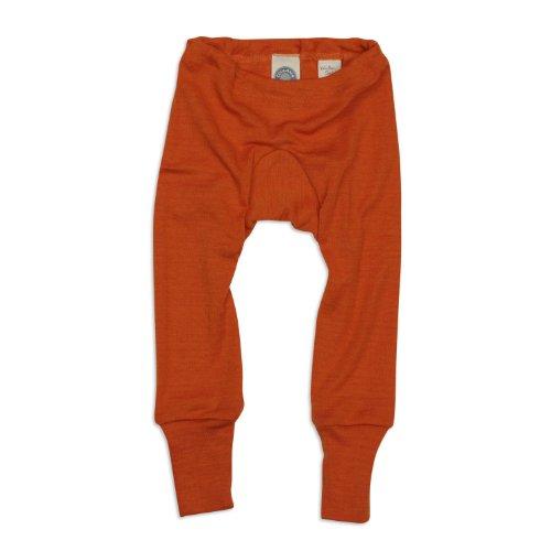 Cosilana Baby Unterhose lang, Gr��e 62/68, Farbe Safran-Orange