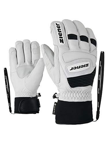 Ziener Gloves Guard Gants de Ski pour Homme Taille Unique Blanc/Noir