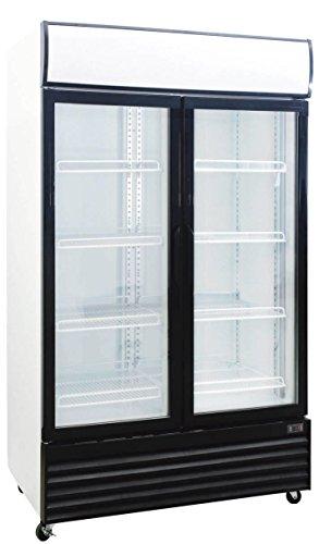 1000 Liter Display Beverage Cooler Merchandiser Refrigerator (35.3 Cu. Ft.)