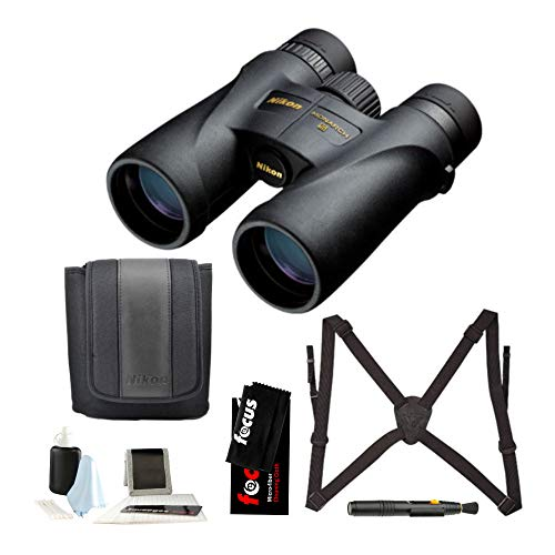 Buy Bargain Nikon 7576 Monarch 5 8x42 Waterproof/Fogproof Roof Prism Binoculars Bundle with Lens Pen...