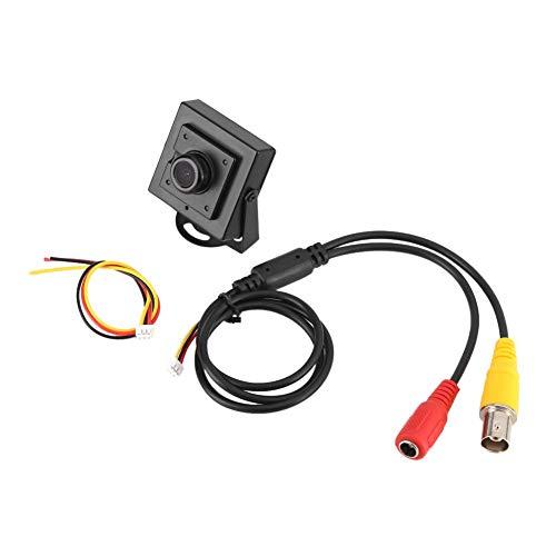 Cámara de Seguridad de Lente Gran Angular - Mini HD 700TVL 170 ° Cámara de Seguridad de Lente Gran Angular de 2.1 mm Día Uso en Interiores y Exteriores de la Oficina en el hogar