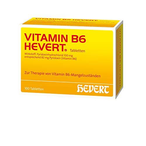 Vitamin B6 Hevert Tabletten, 100 St. Tabletten