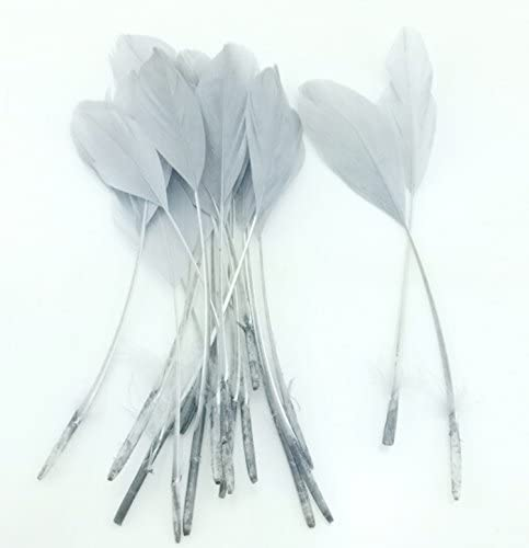 Goose Online limited product Free Shipping New Feather Craft 15-20cm 6-8inch Gray
