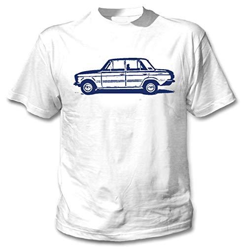 Teesandengines Men's FIAT 125 Special White T-Shirt Size XXLarge