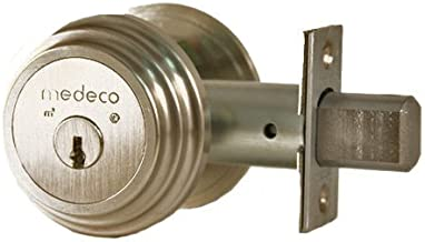 Medeco Maxum Residential Deadbolt - Captive Double Cylinder - Nickle Silver by Medeco Security Locks