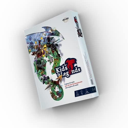 Asmodee - Kids & Legends, Gioco di Ruolo, Edizione in Lingua Italiana, 5465