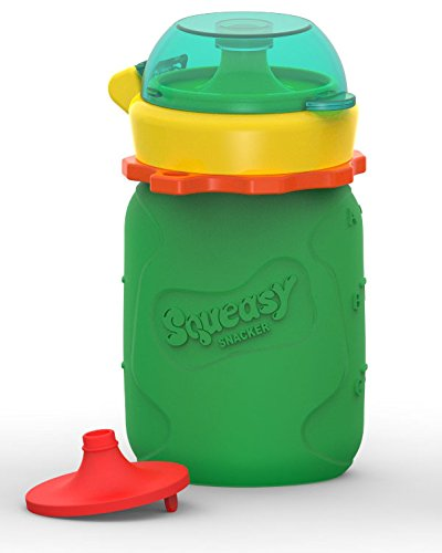 Squeasy Snacker (3.5 Oz - Green)