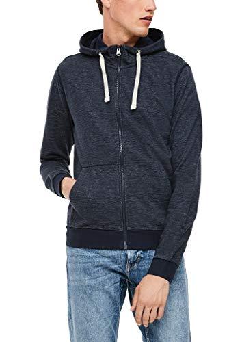 s.Oliver Herren 130.10.009.14.150.2043336 Sweatshirt, Dark Blue Melange, XL
