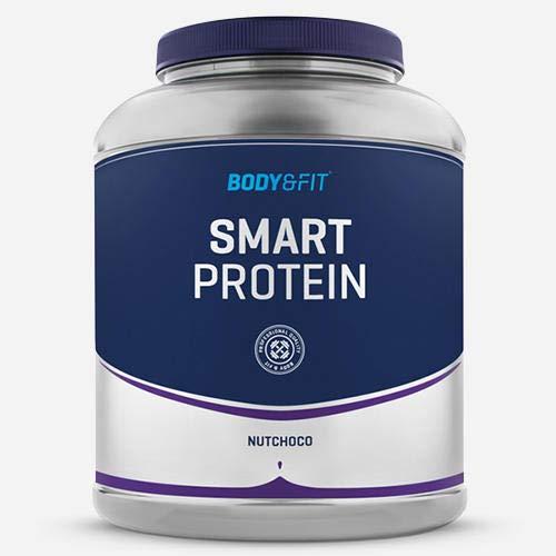 Smart Protein 2kg - Low Carb, High Protein, Whey Protein Shake Nutella Haselnuss Milkshake