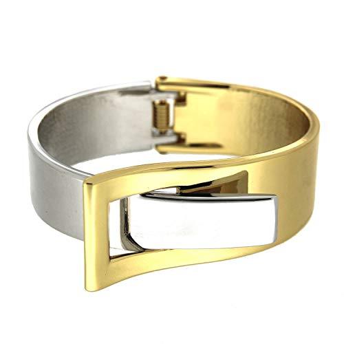 Sweet Deluxe armband Ebony, goud/zilver I armbanden voor dames en meisjes | Girl armbanden | Cadeau-idee voor verjaardag, bruiloft, verloving | Bangle Vrouwen armbanden