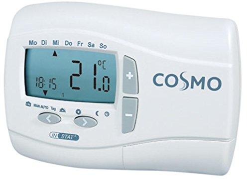 COSMO digitale thermostaat met batterij AP met dag-/weekprogramma