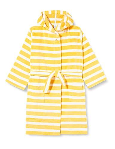 Sanetta Mädchen Morningcoat gelb Baby-und Kleinkind-Bademantel, Yellow, 92