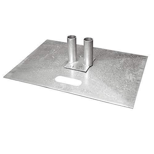 Türanschlussstück - für mobile Zaun - 1 Stück pro Tür - Zubehör für mobile Zäune - Gitterzäune - Verbindungsstück für Tür, Verbindungsstücke