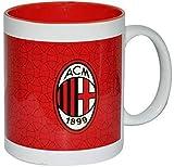 Giemme articoli promozionali - Tazza Mug Rossonera Stemma Milan Prodotto Ufficiale Idea Regalo Calcio Nuovo