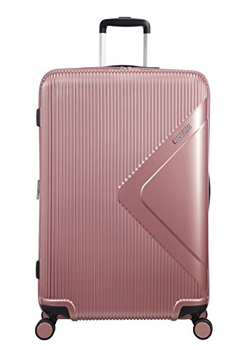 American Tourister Modern Dream - Spinner Expandable Suitcase, 77.5 cm, 114 Litre, Pink (Rose Gold)