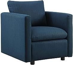 أريكة من النسيج العصري المنجد بأسلوب عصري من مودواي تفعيل أريكة في رمادي فاتح Armchair ازور