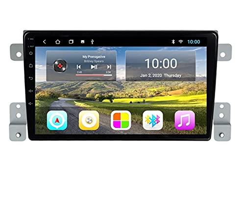 ZBHWYD Adecuado para 05-15 Super Suzuki Vitra Android Smart GPS, 2GB + 32GB GPS Navigation Audio Video Video Multimedia Broadcast Player