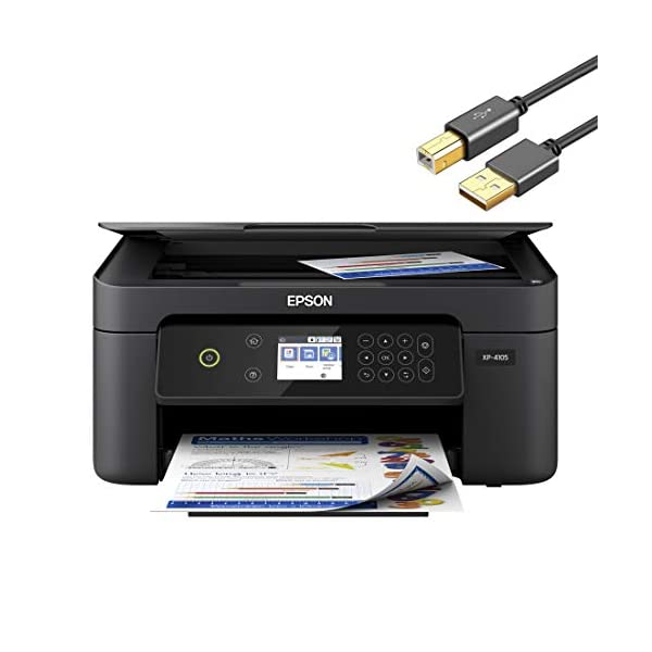 Epson Expression Home XP Series Wireless All-in-One Color Inkjet Printer for Business...