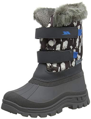 Trespass Childrens/Kids Vause Touch Fastening Snow Boots (11 Child US) (Polar Bear Print)