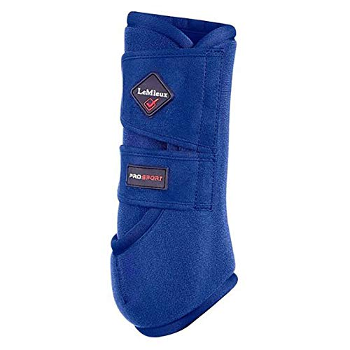 LeMieux Pro Sport Support Boots Small Benetton Blue