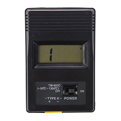 Senmubery Temperaturmessgeraet -50°bis 750°C Thermometer TM-902C