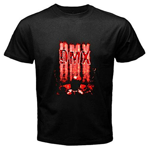 New DMX Belly Rap Hip Hop Music Mens Black T-Shirt Size S to 3XL