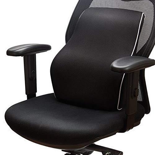 Grin Health Sit Right Memory Foam Backrest Lumbar Support...
