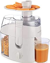 Black & Decker Juice Extractor - JE65, White
