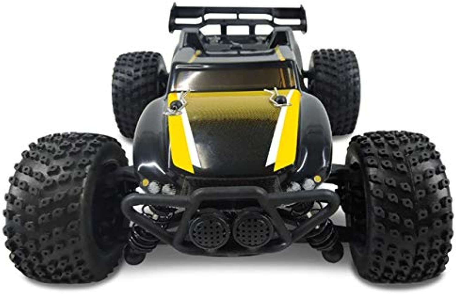 XuBa RC Auto 1 24 Mastab Off Road Monster Truck 4WD Fernsteuerung Auto High Speed Brushless Electric Car Remote Control Toys Gelb