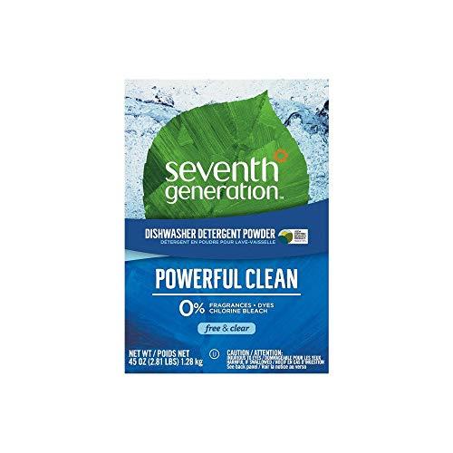 - Free & Clear Automatic Dishwasher Powder, Non-Toxic, 45oz Box
