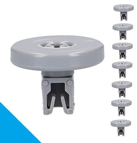 LUTH Premium Profi Parts - 8x Ruote per cestello lavastoviglie | Compatbile con AEG Electrolux 5028696965004
