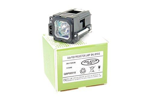 Alda PQ-Premium, beamerlamp/reservelamp compatibel met BHL-5010-S voor JVC DLA-20U, DLA-HD250, DLA-HD350, DLA-HD550, DLA-HD750, DLA-HD950, DLA-HD990, DLA-RS10 projectoren, lamp met behuizing
