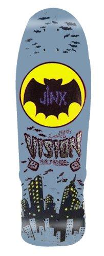 Vision Jinx Mini Neuauflage Skateboard Deck 24,1x 74,9cm, BD0V32-grey, grau, 9.5 x 29.5-Inch