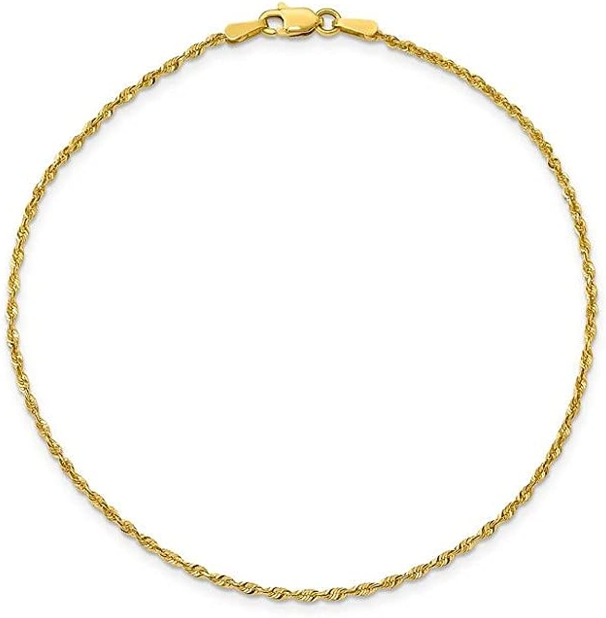 14K Gold Anklets for Women. 14K 10 Inch Anklet, Gold Rope chain Anklet, 14K Box Chain, Cuban Chain, Figaro Chain, Anklet Summer Beach Gold Jewelry, Foot Jewelry Ankle Bracelet