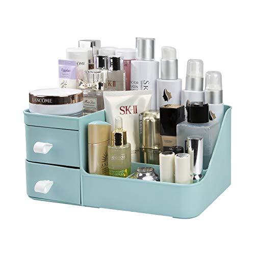 Caja para Cosméticos Organizador de Maquillaje con Gavetas Belleza Joyería Cajón De Almacenamiento de Tipo Escritorio Guardar Espacio para Tocador, Baño, Dormitorio