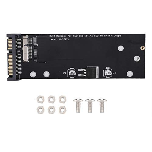 Yisentno Light SSD to SATA Adapter, Easy To Carry Adapter Card, Small Body SSD, Office for MD212 Home A1425