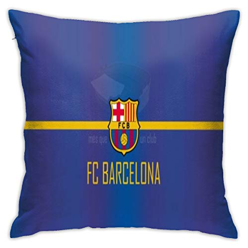 Krx Barcelona Fc Pillow 18inch*18inch Sofa Couch Bedroom Throw Pillow Cases Cushion Covers 45cm x 45cm