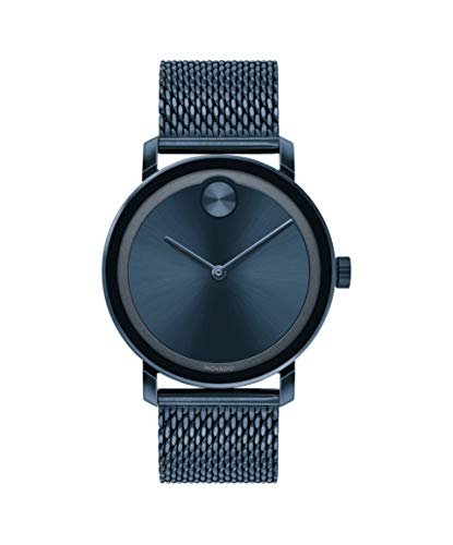 Movado Blue Stainless Steel Case (Model: 3600610)