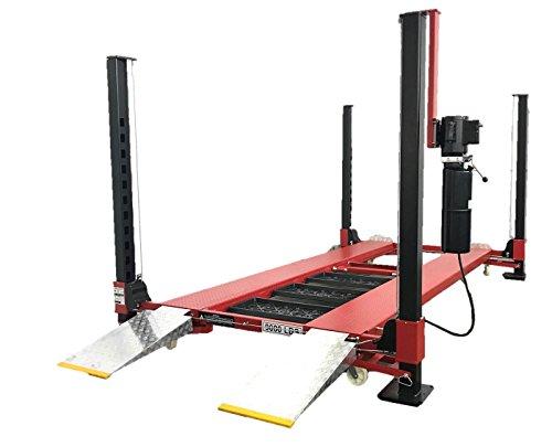 TRIUMPH 9000 Pound 4 Post Automotive Storage Parking Lift Car Truck Hoist NOS9000