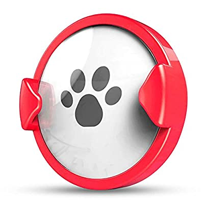 Pet Time Pet Activity Monitor for Dogs and Cats' Collar (Red)