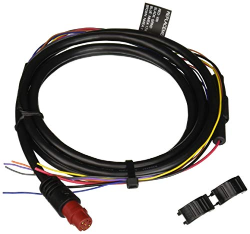 Garmin Power Cable  8Pin f/echoMAP Series amp GPSMAP Series 0101197000