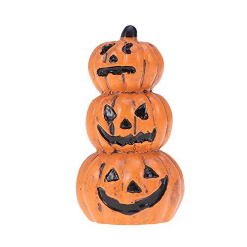Yardwe jardín de Hadas de Halloween Miniatura Decoraciones de figurillas de Calabaza Adornos Accesorios de casa de muñecas favores de Fiesta de Halloween Rellenos de Bolsas