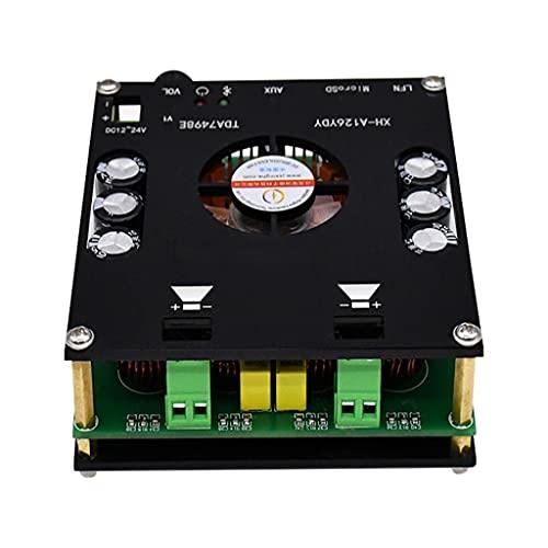 JYDQB Placa amplificadora de Potencia Bluetooth 5,0 Amplificador de Sonido 160wx2 Amplificador de Audio estéreo Digital de Alta fidelidad