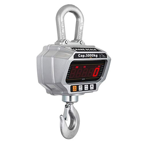 BananaB OCS-T-5T Kranwaage 5 t /5000kg Industriewaage Digital Hängewaage Crane Scale LCD Bildschirm Hanging Weighing Scale