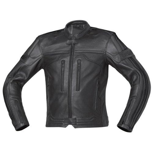 Held Far Rider - Retro- Lederjacke, schwarz, Größe 56