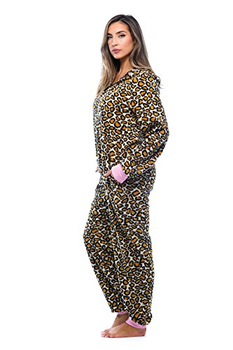 Just Love Adult Onesie with Animal Prints Pajamas 6453-10216-M